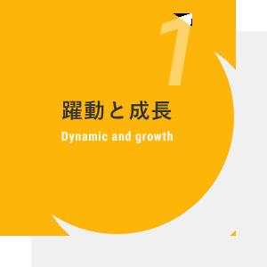 躍動と成長